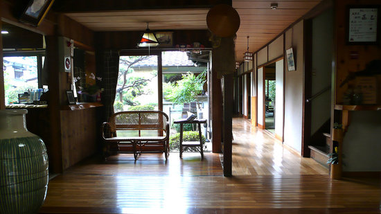 Ryokan Fujioto: Entrance area