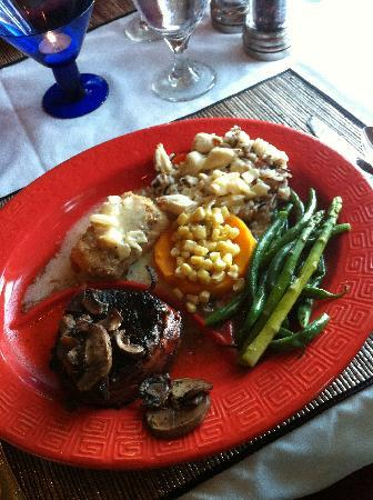 Echo Canyon Spa Resort: Our entree