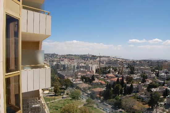 Leonardo Plaza Jerusalem: View of the Old City from balcony