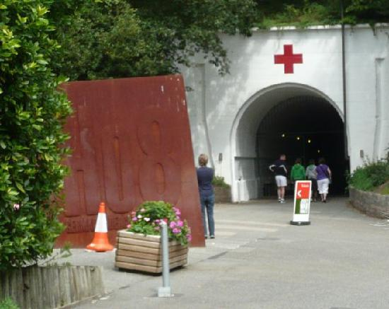 St. Lawrence, UK: Entrace to tunnels