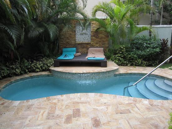 Our private plunge pool picture of sandals negril beach for Plunge pool design uk