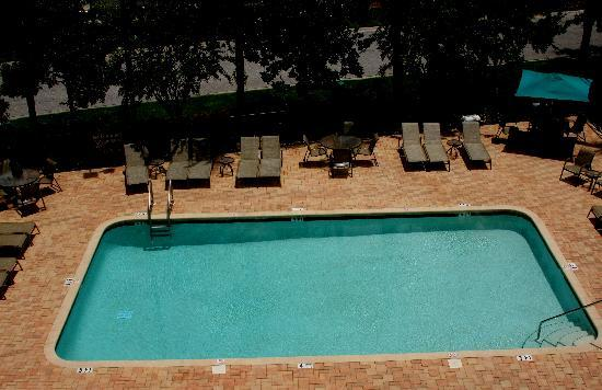 Hampton Inn Ellenton: Pool view