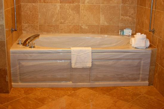 Hampton Inn Ellenton: Jacuzzi in King Spa Room