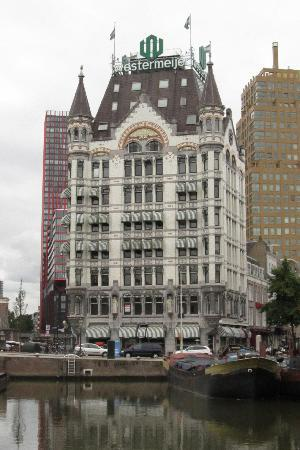 Rotterdam, The Netherlands: edificio d&#39;epoca