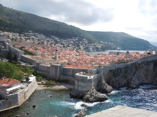 Apartments Placa Dubrovnik: A view of Dubrovnik from Fort Lawrence
