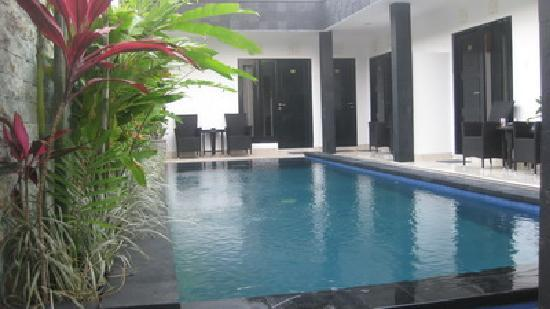 Legian Guest House: Pool View