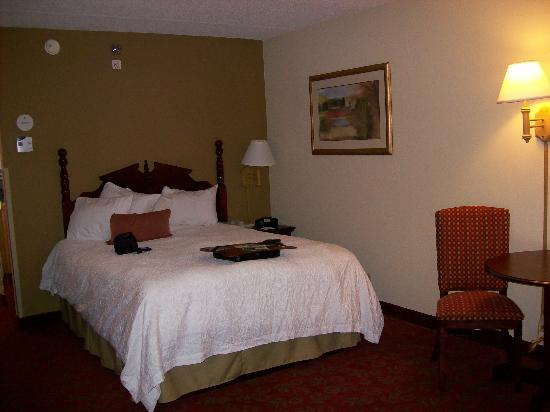 Hampton Inn &amp; Suites Pigeon Forge On The Parkway: Our room.