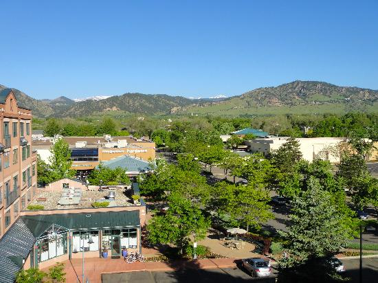 Boulder Marriott: view from the deck