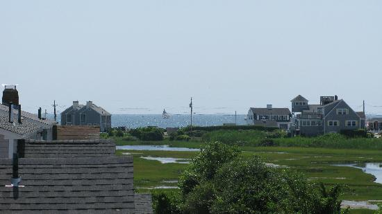Cape Cod Ocean Manor: View from the second floor of the Ocean Manor Inn