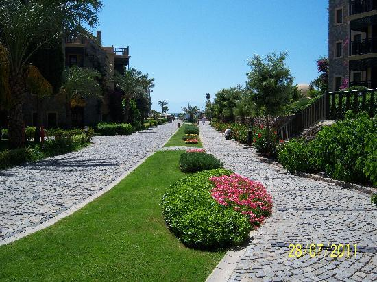 Bodrum Imperial: Gardens