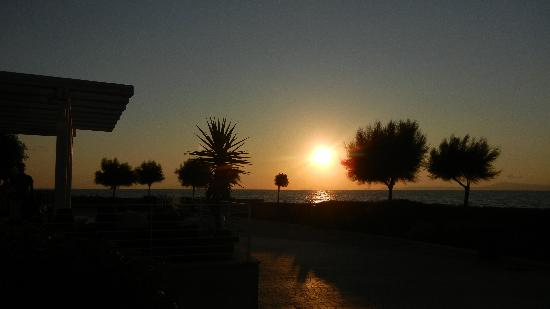 Crowne Plaza Stabiae Sorrento Coast : Sunset 