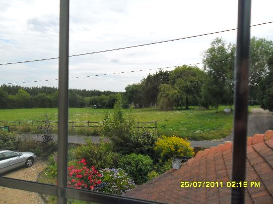 Woodlands Bed & Breakfast: view from the double room