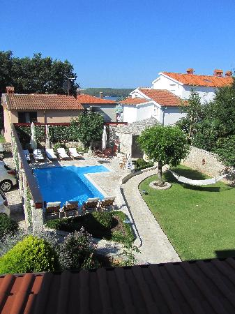 Medulin, Croatie : Out our window