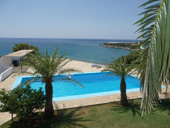Ferma, Greece: View from the hotel window