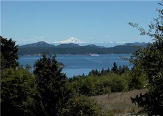 B&B at Salt Spring Apple Company: Spectacular views of Mt. Baker, the Gulf Islands and the Pacific.