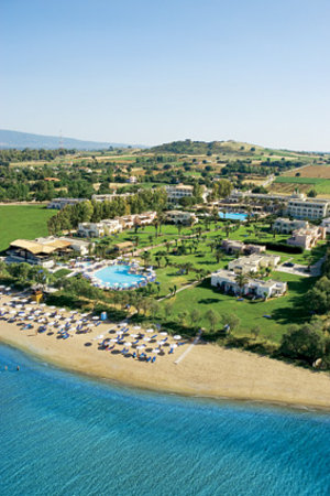 Grecotel Lakopetra Beach: The Resort - aerial view