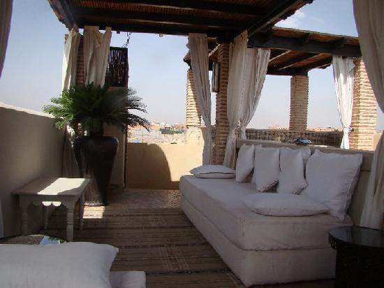 Riad Kheirredine: Rooftop terrace