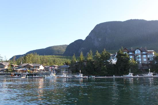Sonora Island, Kanada: The View of the Resort