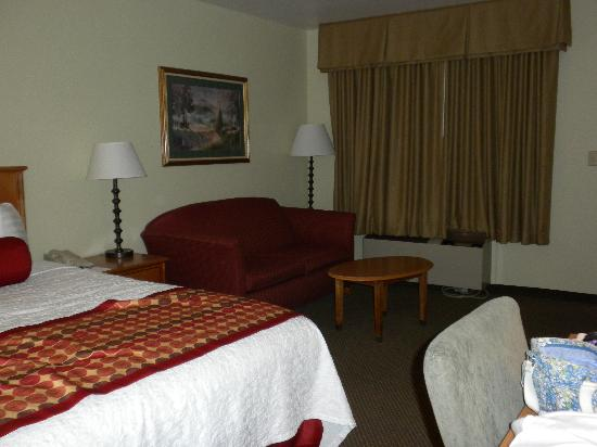 BEST WESTERN PLUS Inn Scotts Valley: Couch in king room