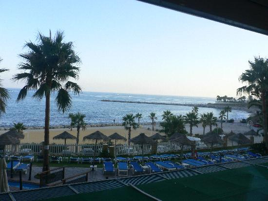 Best Benalmadena Hotel: view from resturant