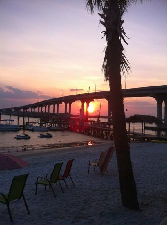 The Saint Augustine Beach House: Sunset over the Intracoastel
