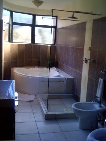 Wasini All Suite Hotel: The Shower