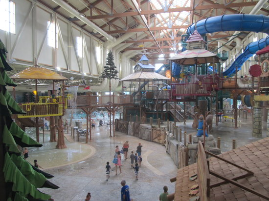 Water Park Picture Of Great Wolf Lodge Scotrun