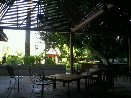 Place To Dine Outside Picture Of Wyndham Garden Phoenix Midtown Phoenix Tripadvisor