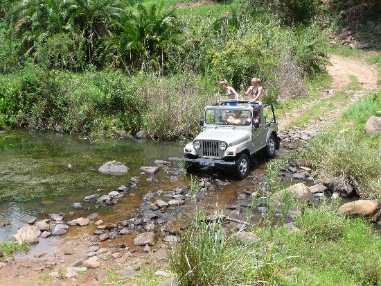 Gwahumbe Reserve Game & Spa: Great 4x4 self drive routes