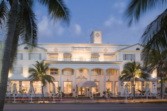 ‪‪The Betsy Hotel, South Beach‬: The Betsy-South Beach overlooks Ocean Drive‬