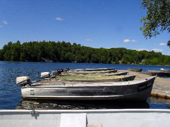 Sunny Point Resort, Cottages & Inn: Boats for Rent