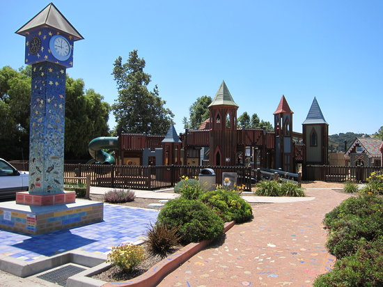 Solvang, CA: Sunny Fields playground