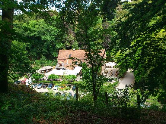 Ratingen, Germany: Auermuhle in the valley