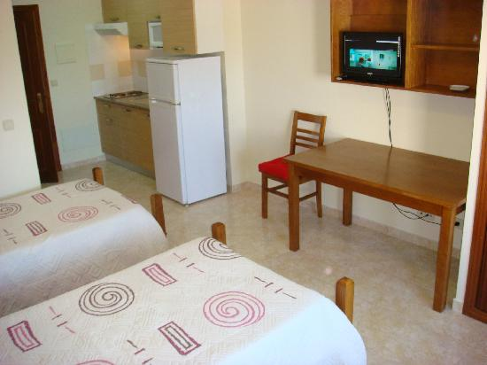 Residencia Santa Marta: Double room apartment