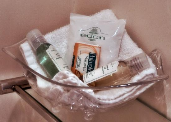 The Cameo: Complimentary Toiletries