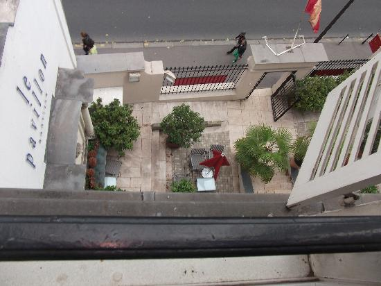 Hotel Pavillon Bastille: View from the window.