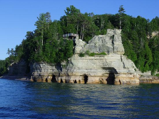 Munising, MI: Pictured Rocks Shoreline