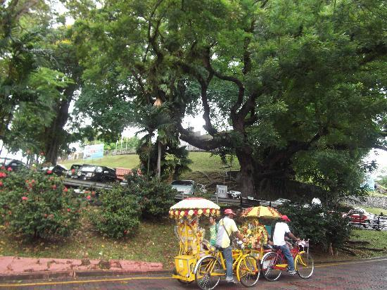 Melaka, Malasia: TRISHAW RIDE