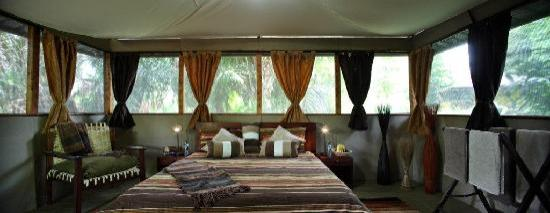 Meru National Park, : Inside cabin