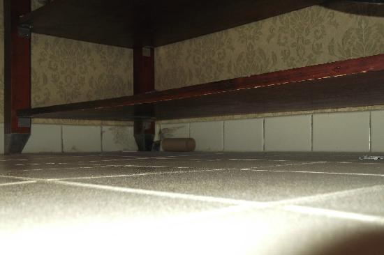 BEST WESTERN PLUS Historic Area Inn: Under the shelf in the bathroom.
