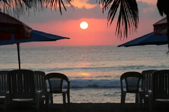 Troncones, Mexico: Romantic Sunset view