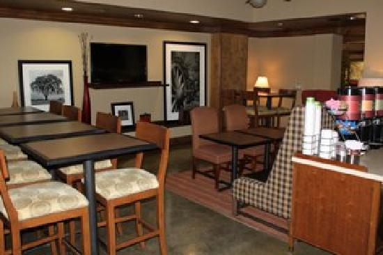 Hampton Inn Austin-Round Rock: Updated Breakfast Area