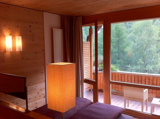 Naturhotel Waldklause: from bed