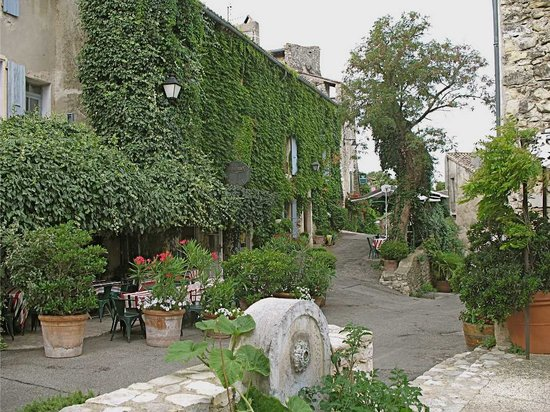 Mirmande, France: Margot viewed from the street