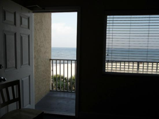 Hotel at the Boardwalk Beach Resort: from the room