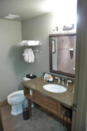 Rough Riders Hotel: Bathroom sink