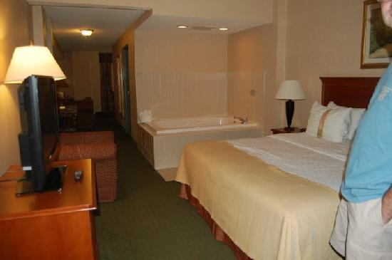 Holiday Inn Express Madison: Our room