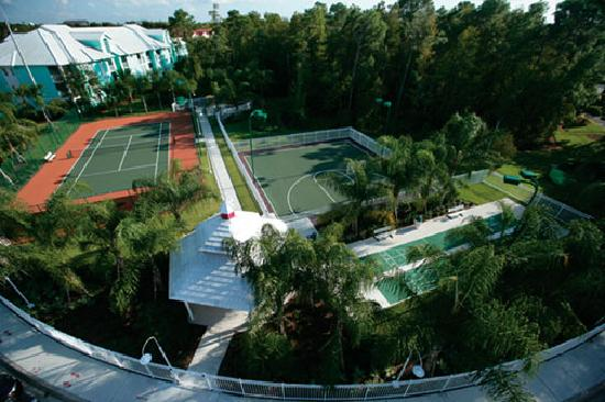 Cypress Pointe Resort: Tennis Court