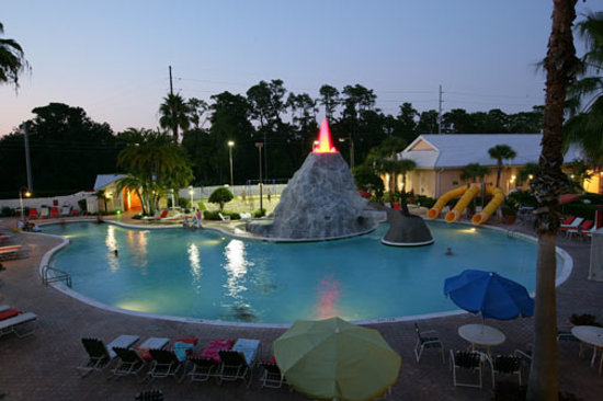 Cypress Pointe Resort: Volcano Pool