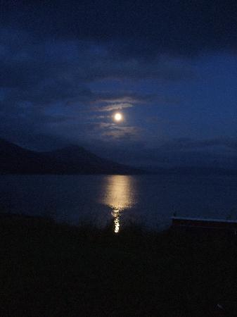 Neddies Harbour Inn: The moon shining over Needies Harbour Inn